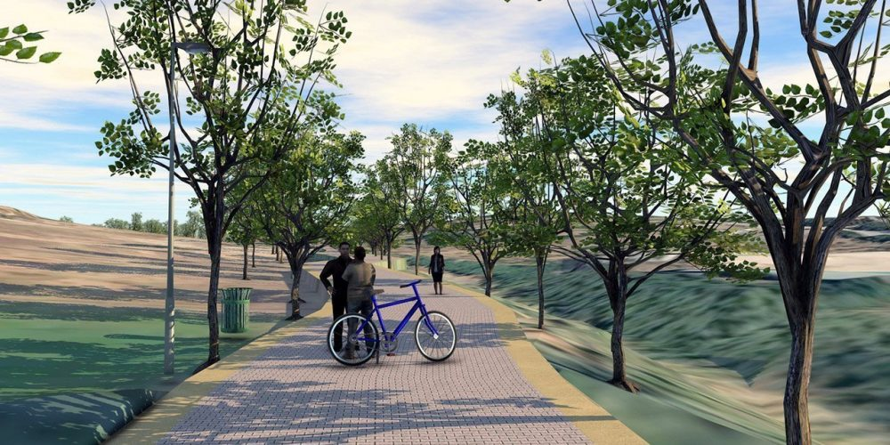 New River Path planned for the Selwo Park area.