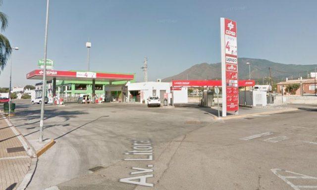 Estación de servicio Cepsa