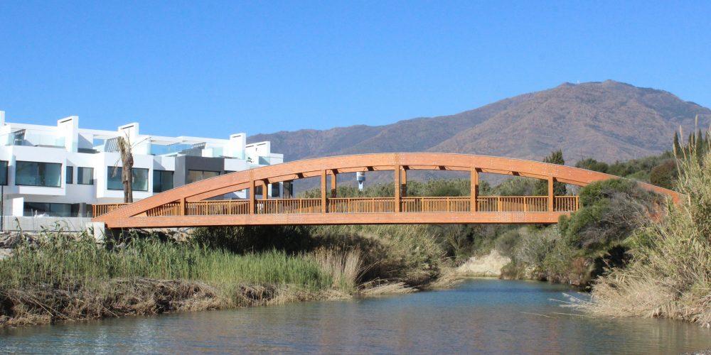 New Bridge and Costal Path near H10 Hotel in Estepona